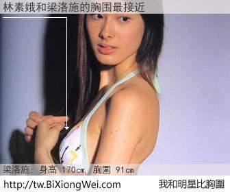 林素娥和明星比胸圍的結果